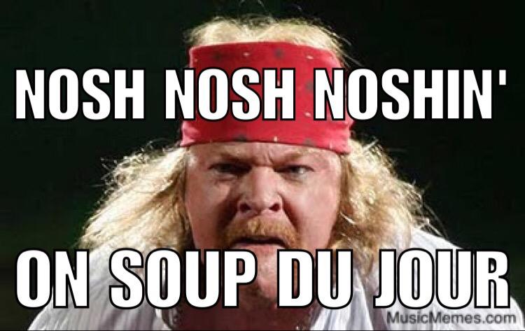 Fat Axl – Nosh Nosh Noshin'